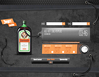 Jagermeister Music.com  (Personal Web Design Project)