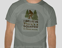 Zazzle #1 Selling Sasquatch T-shirt