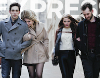 Express Winter Catalog Mailer