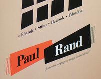 Hommage á Paul Rand