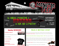 Monster Fest Website