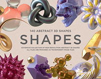 Shapes: 140 Abstract 3D Shapes