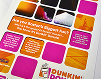 Dunkin Donuts Corporate POP Campaign