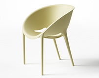 Driade Soft Egg Chair CAD Sculpting Exercise
