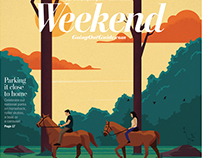 Washington Post - Weekend Section Cover and Spots