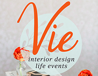 Branding - Vie Interior Design