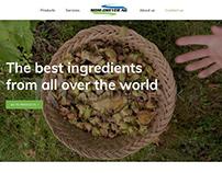 Webdesign | Food importer website