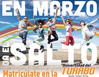 Post card Da el Salto - Turabo
