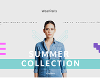 WearParis - Fashion Store Category Landing