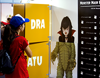 Brand Activation: MONSTER MASH for FNAC PORTUGAL