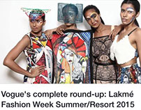 Lakame Fashion Week with Salita Nanda