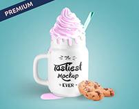 Premium Tasty Mug Mockup