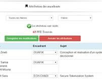 Application web de gestion des PFE