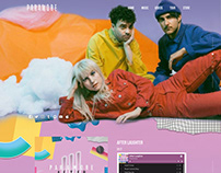 Web Design - Band Site