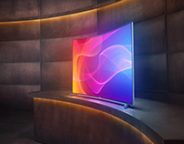 Arçelik Curved TV