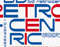 BD Retrocentric Font