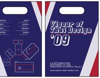 maison '09 leaflet bag