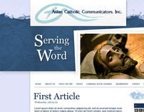 Asian Catholic Communications Website