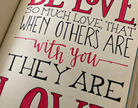 Quote - Be Love