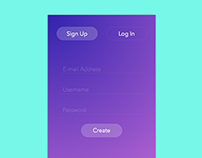 Daily UI - 001 - Sign Up