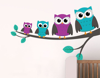 Owls on a branch £34.99