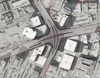 City crossing design competition, Winnipeg, Canada
