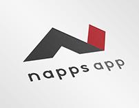 napps app branding logo design
