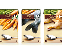 Caldos Carrefour / Packaging