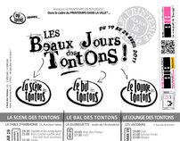 LA SCENE DES TONTONS & LES BEAUX JOURS DES TONTONS