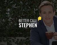Better Call Stephen Rebrand