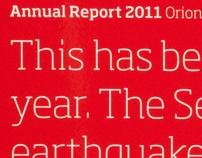 Orion Annual Report 2011