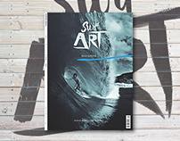 SURF ART MAGAZINE - Editorial Design Concept