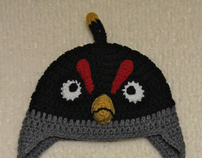 Crochet Angry Bird Hat Collection: By Mrs.V's Crochet