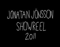 Jonatan Jönsson - Showreel 2011