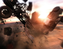 Sony Entertainment - MotorStorm vehicles