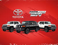 Activación marca Toyota