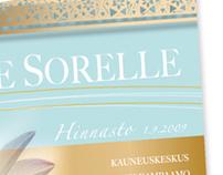 Corporate & Brand Identity, Le Sorelle 2009