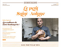 Le petit Saint-Aulaye - journal d'information papier