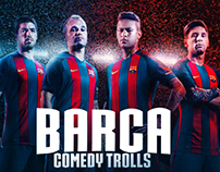Barca Comedy Trolls - facebook cover
