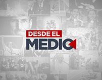 Logotipo Desde el Medio