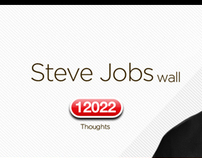 Steve Jobs wall