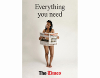 The Times - Outdoor. Award winner: INMA