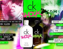 CK ONE - SHOCK