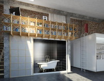 Competition for loft interior
