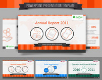Financial Report FullHD PowerPoint Template