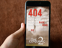 404 Error Page The conjuring 2