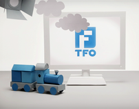 Animated TV ident for TFO