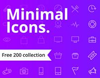 Minimal Icons   UI Design