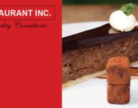 Restaurant Inc. (Brochure Design)