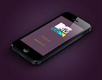 MTV News (UK) iPhone/iPod Application